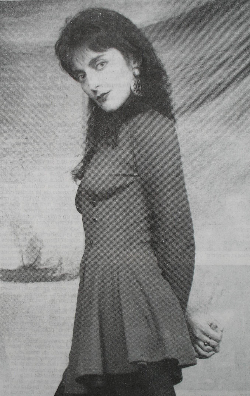 Silvina Garré en 1983. Tendría participaciones también en películas durante la década.