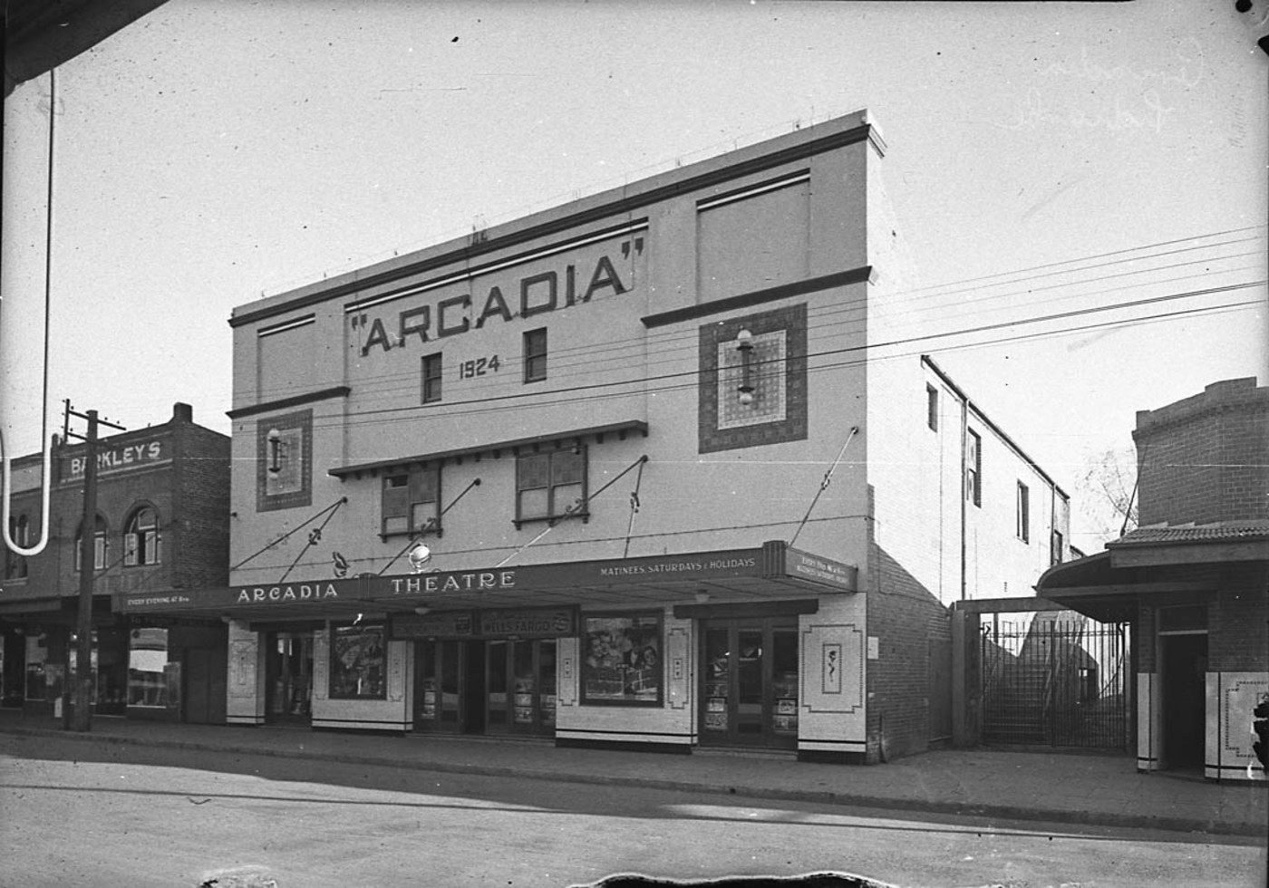 27738 Lidcombe Artcadia exterior by day before remodelling.jpg English: Lidcombe Artcadia: exterior by day (before remodelling) Date 1942 Source http://www