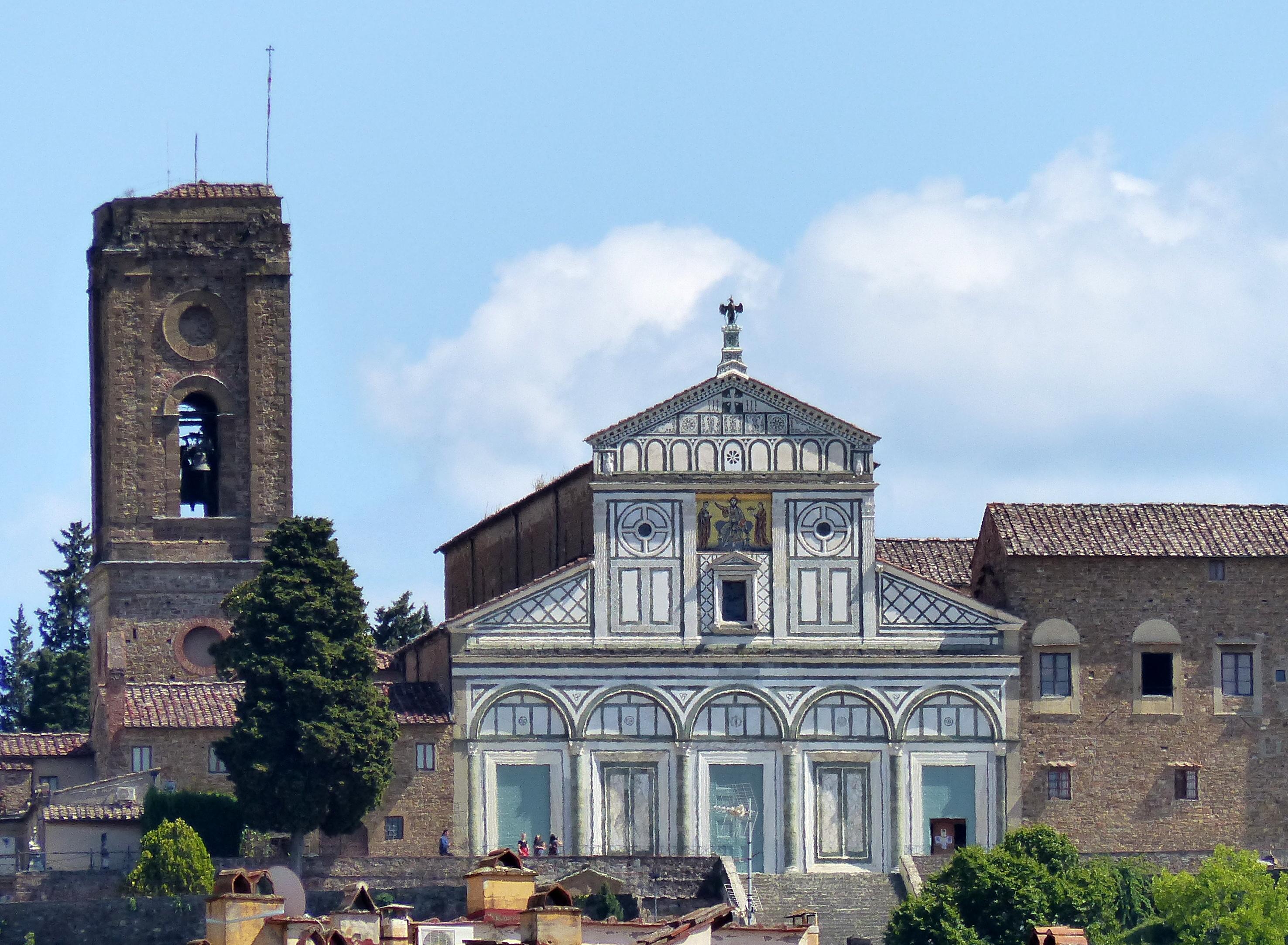 San Miniato al Monte e il Palazzo Vescovile