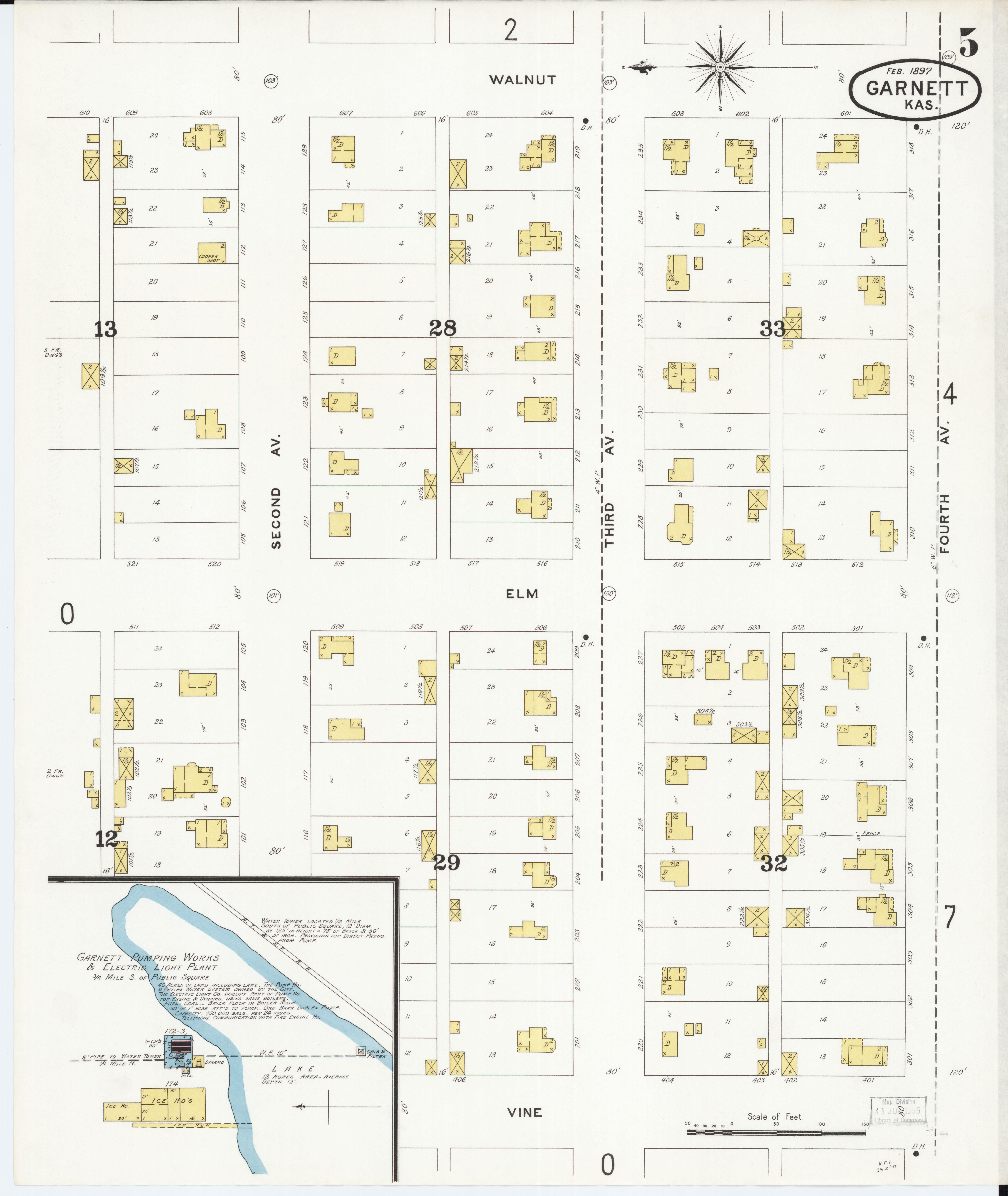 File:Sanborn Fire Insurance Map from Garnett, Anderson ... on olathe kansas map, lawrence kansas map, kansas kansas map, argonia kansas map, pittsburg kansas map, leawood kansas map, liberal kansas map, lecompton kansas map, downs kansas map, cimarron kansas map, kansas city map, lewis kansas map, springfield kansas map, americus kansas map, lyndon kansas map, united states kansas map, ottawa kansas map, burdett kansas map, wellington kansas map, newton kansas map,