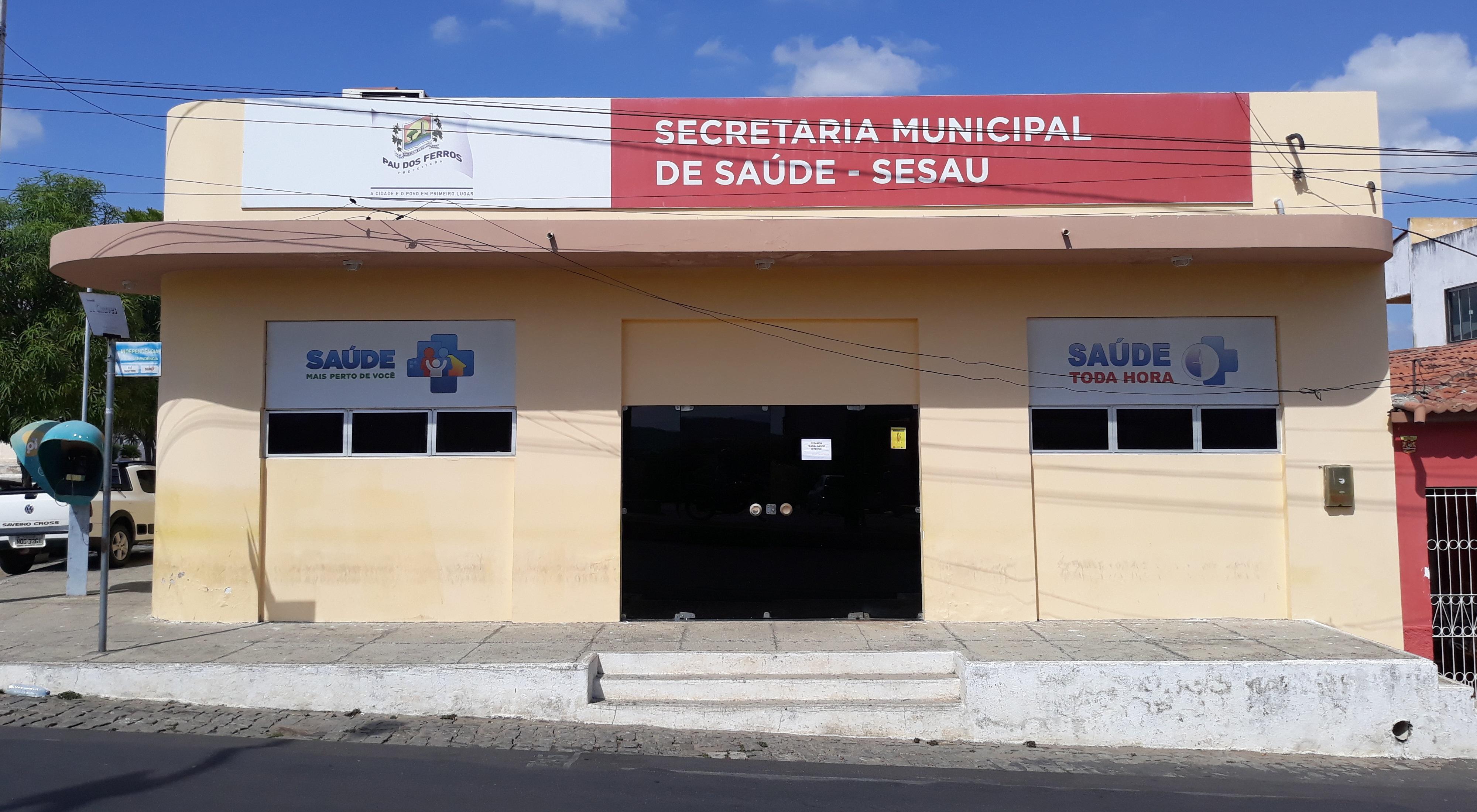 Resultado de imagem para A Secretaria Municipal de Saúde de Pau dos Ferros/rn
