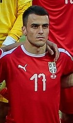 The 25-year old son of father (?) and mother(?) Filip Kostic in 2018 photo. Filip Kostic earned a  million dollar salary - leaving the net worth at 15 million in 2018