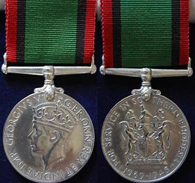 Southern Rhodesia Medal for War Service