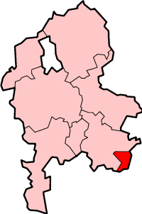 Lage in Staffordshire