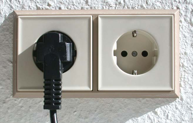Type F power plug