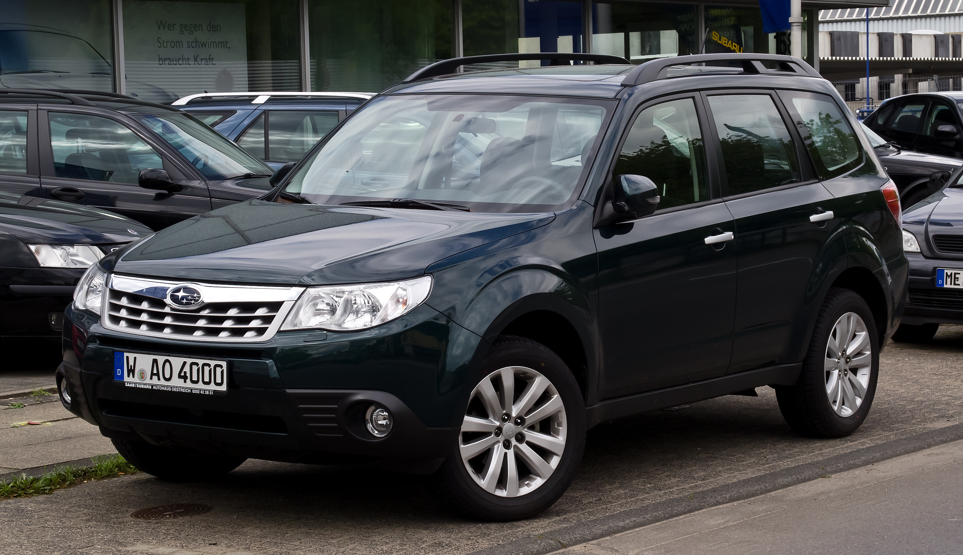 File Subaru Forester Iii Frontansicht 10 Juni 2012