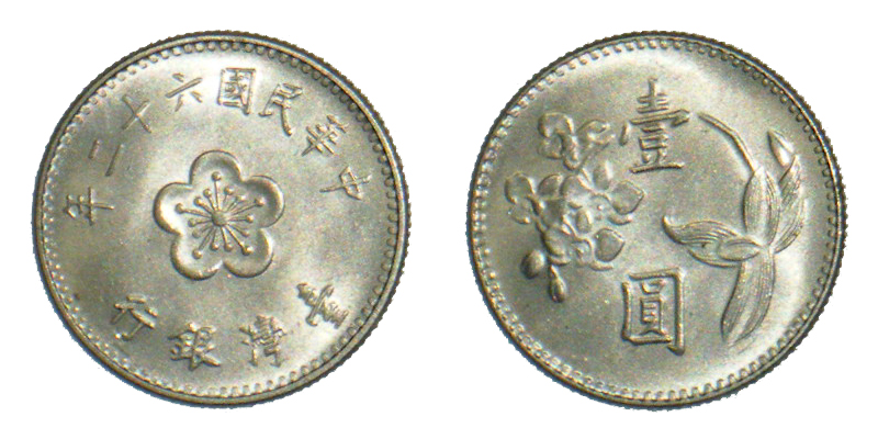 Gambar Uang Logam China Dolar Baru Taiwan Wikipedia Bahasa Indonesia Ensiklopedia Bebas