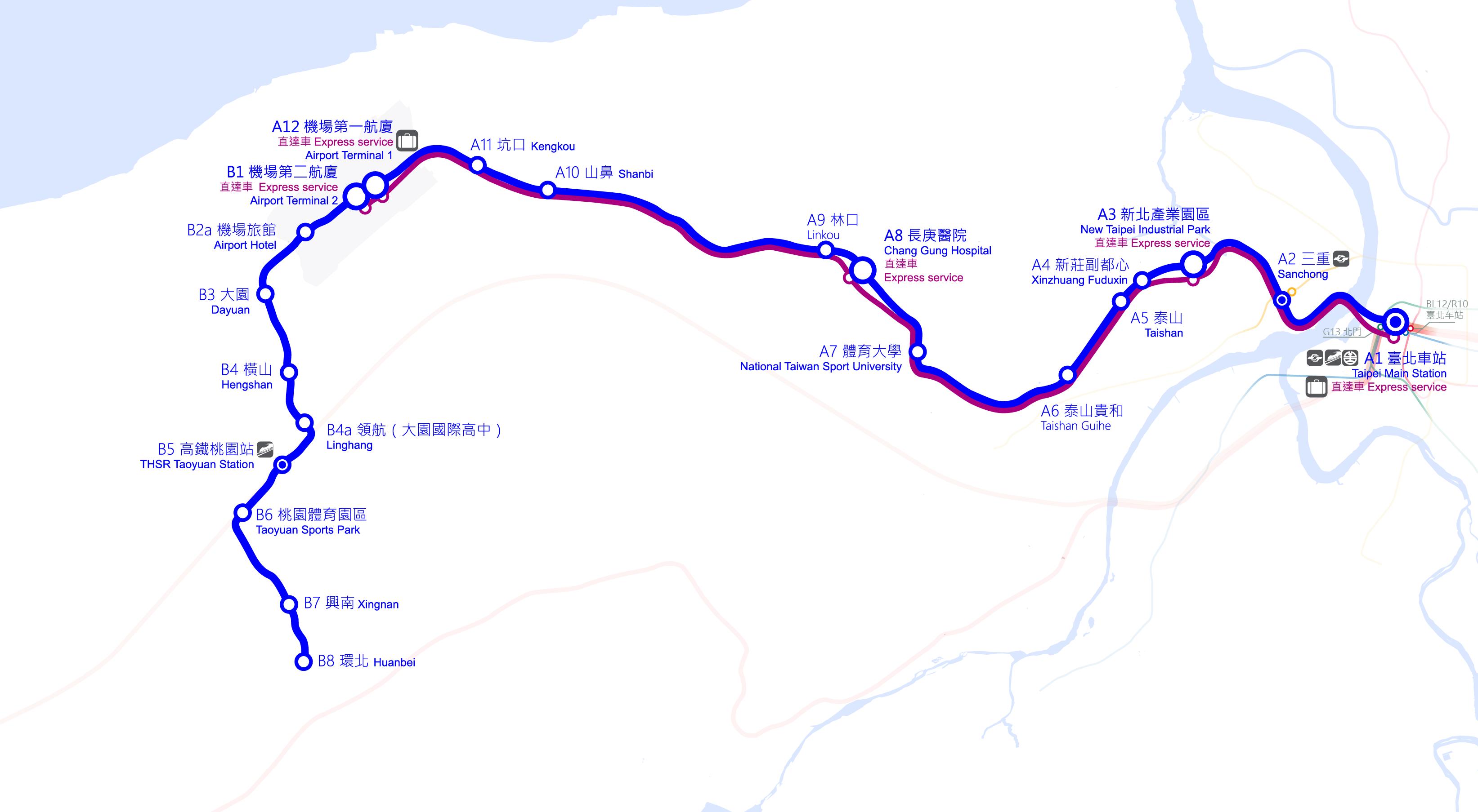 「桃園機場 路線圖」的圖片搜尋結果