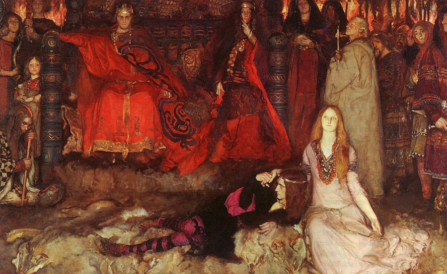 the story of ophelia in hamlet a play by william shakespeare