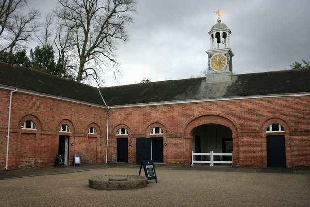 The Stable Block at Saltram - geograph.org.uk - 1194563