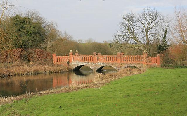 The bridge at Bere Mill - geograph.org.uk - 331197