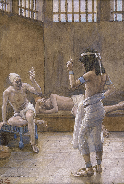 Tissot Joseph Interprets the Dreams While in Prison