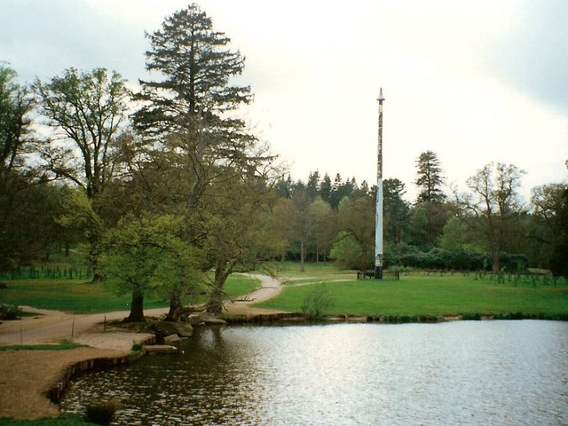 Totem pole at Virginia Water - geograph.org.uk - 214069