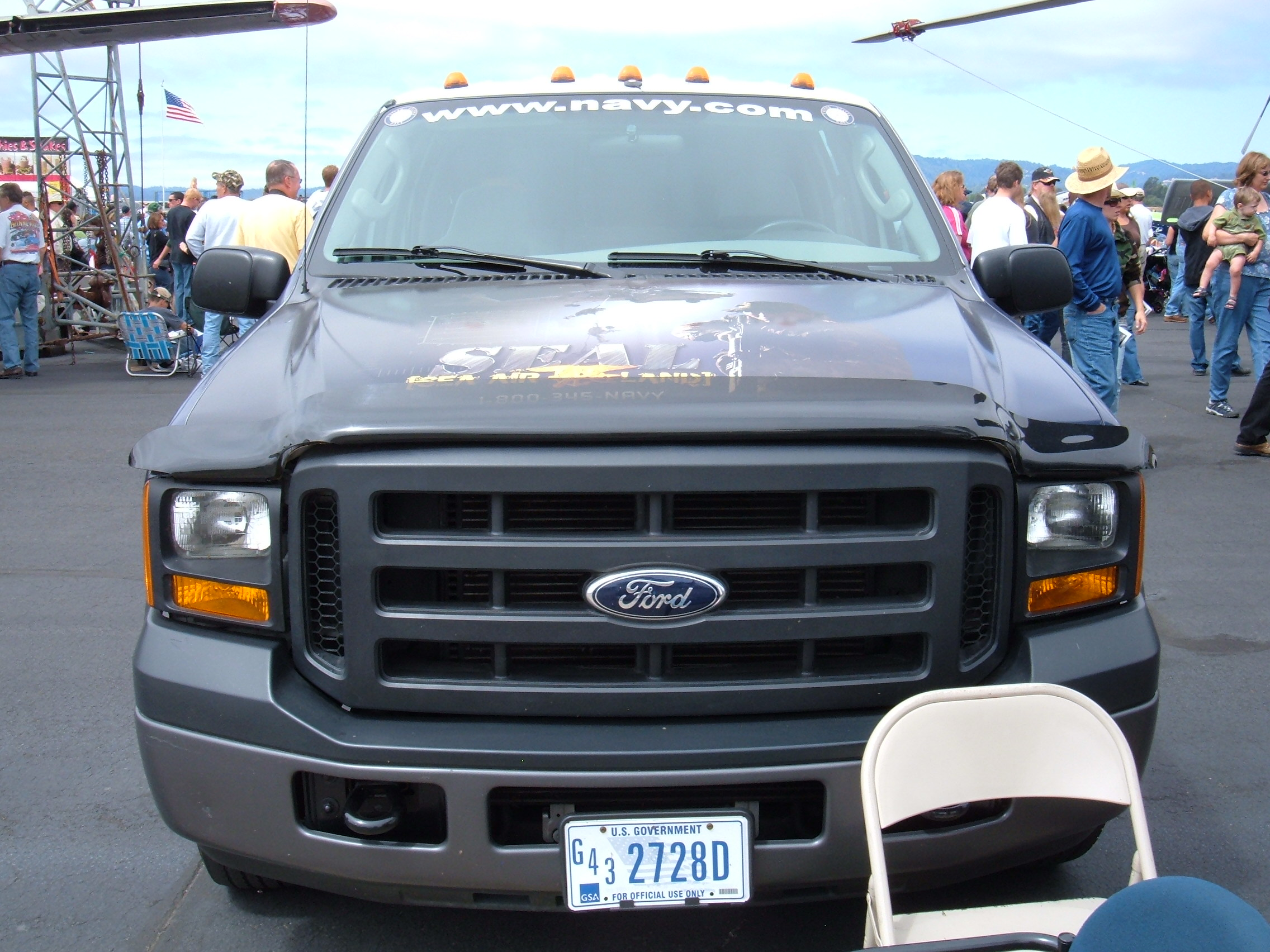 File us navy seals ford f 350 xl super duty at wowc 2008 front