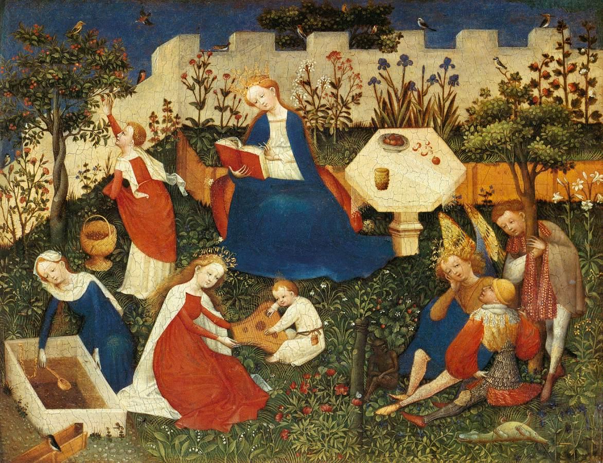 File:Upper Rhenish Master - The Garden of Eden - WGA23763.jpg ...