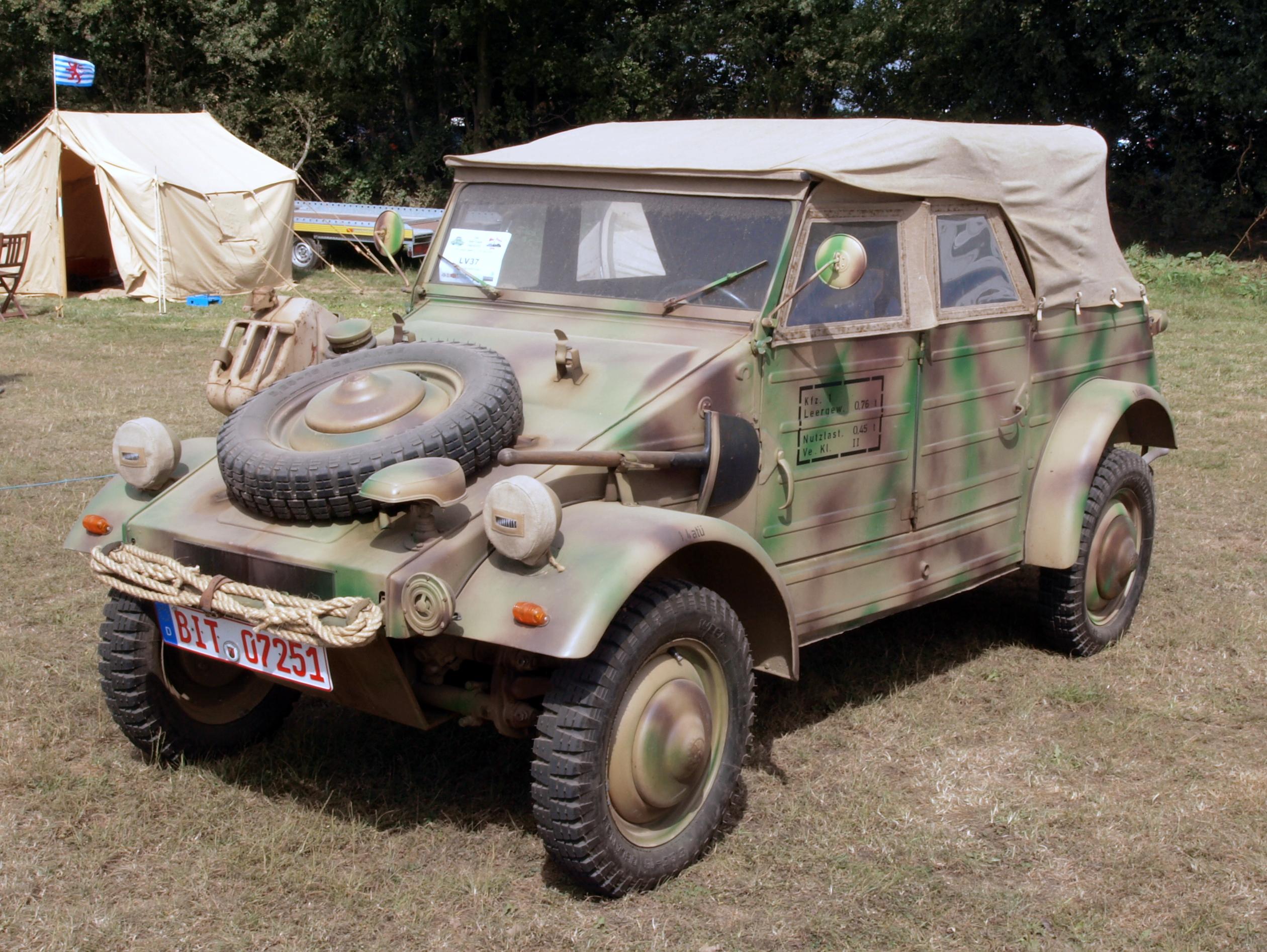 Kubelwagen For Sale >> Soubor:VW Kubelwagen Type 82 (1944) (owner Hermann Muller) pic.JPG – Wikipedie