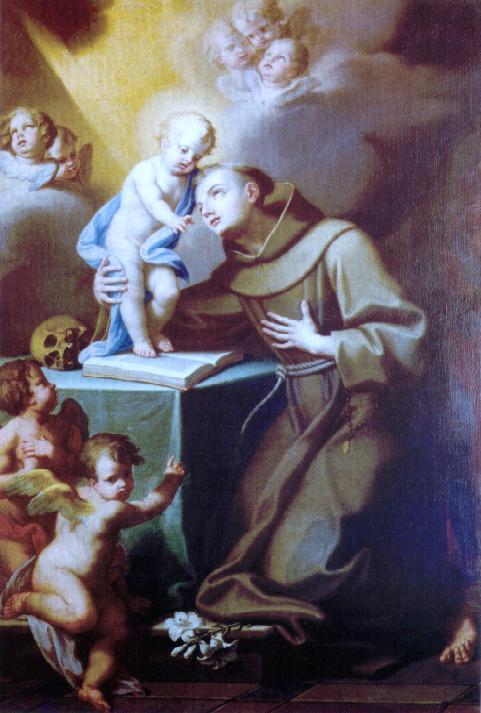 Sant'Antonio da Padova dans immagini sacre Visione_di_Sant%27Antonio_da_Padova