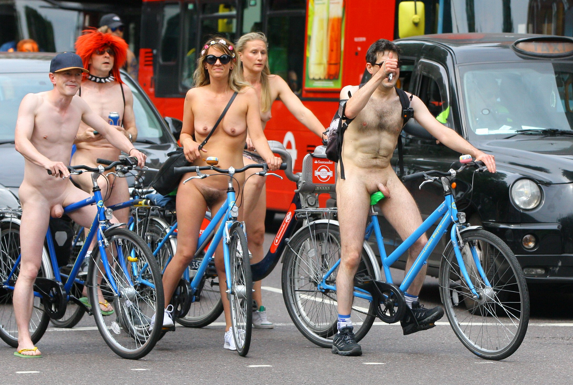 London naked bike ride 2018