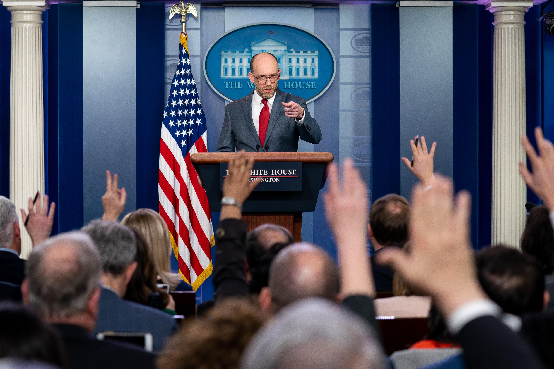 b8bb400b07d8 White House press corps - Wikipedia