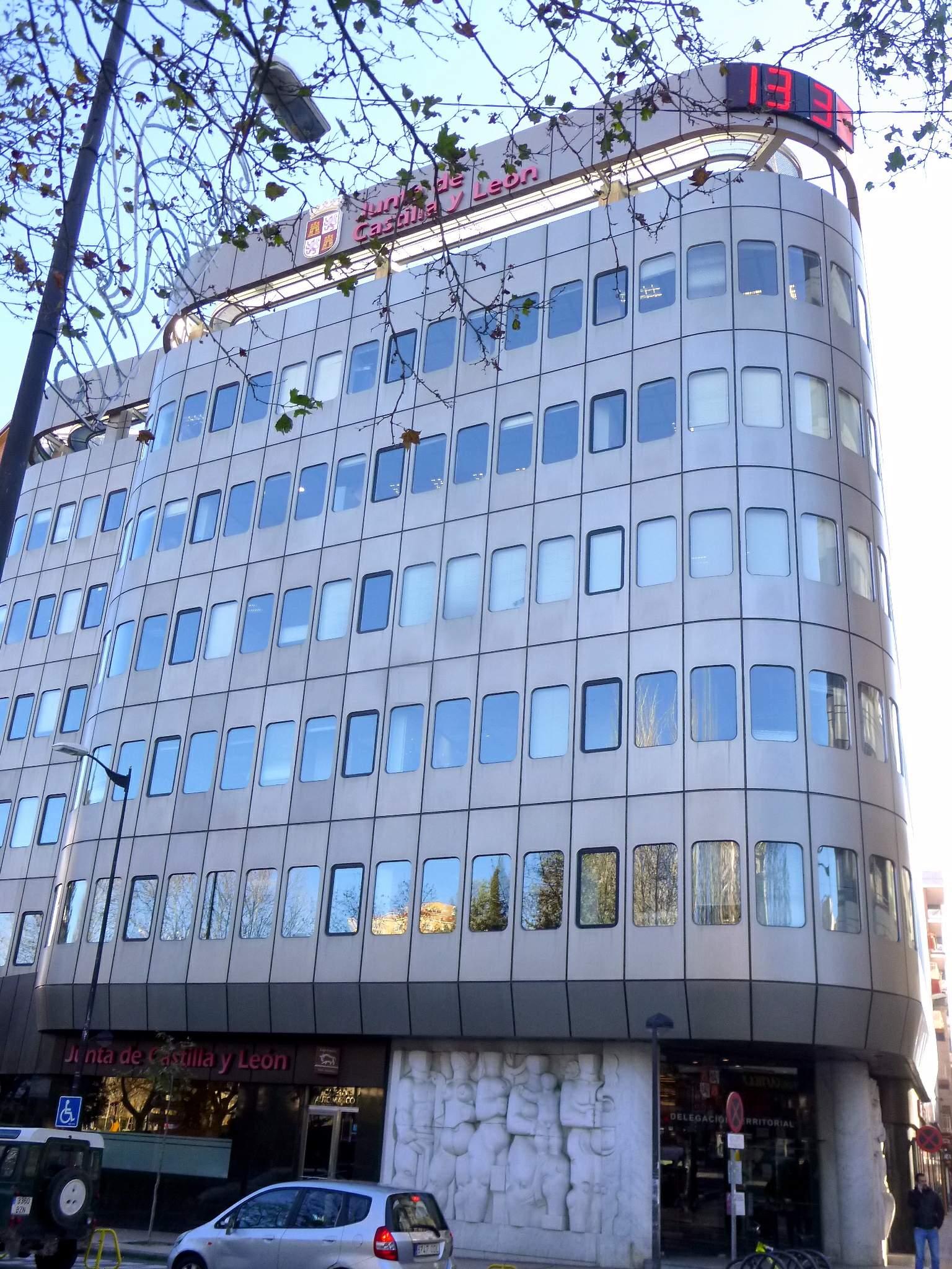 File zamora antigua sede de la caja de ahorros for Caja de cataluna oficinas
