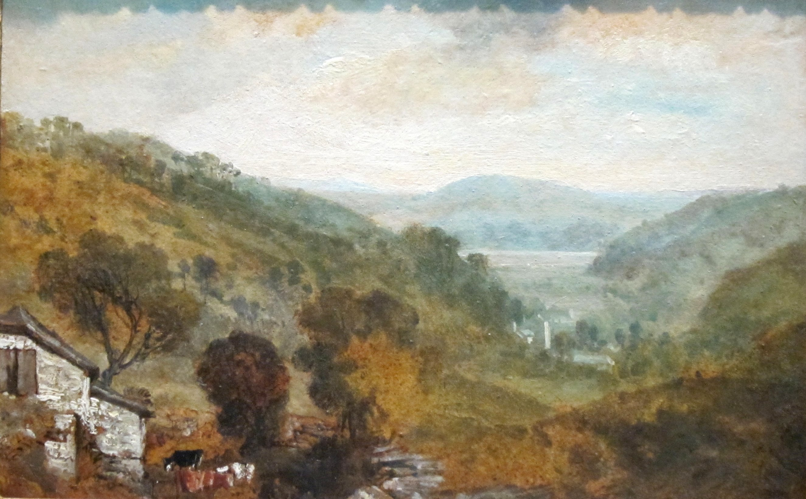 File:'View in Devonshire' by Joseph Mallord William Turner ...