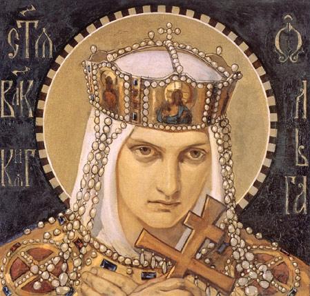 Н. Бруни. Княгиня Ольга. Изображение из Википедии