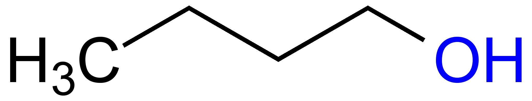 File:1-Butanol Structural Formula V.2.png
