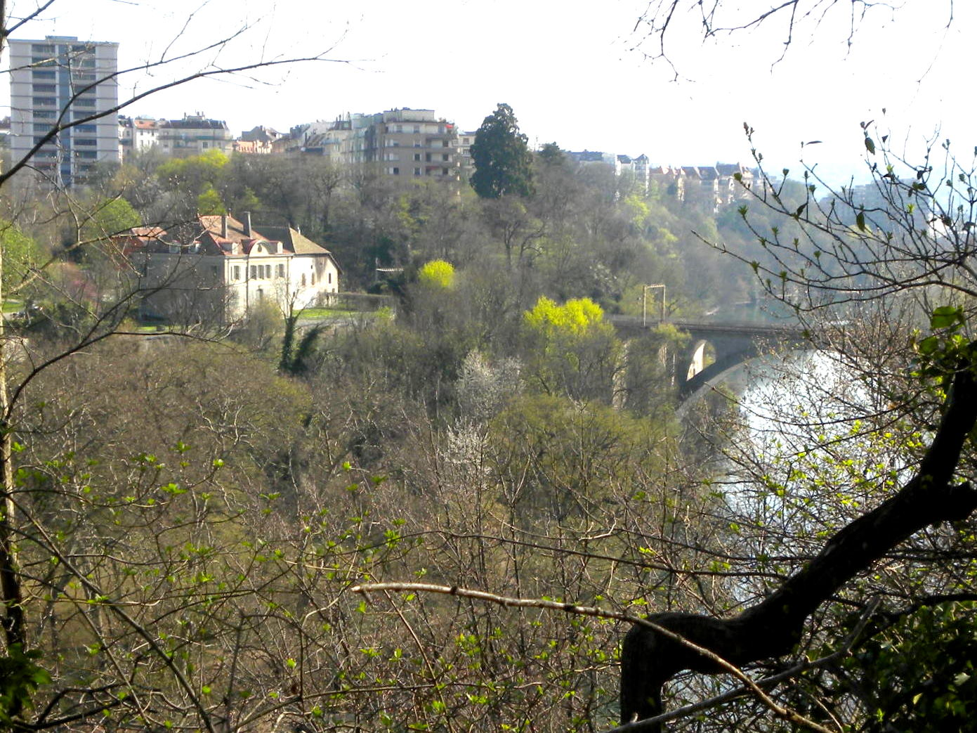 Saint-Jean, the district of Geneva in which Carlotta retired in 1856