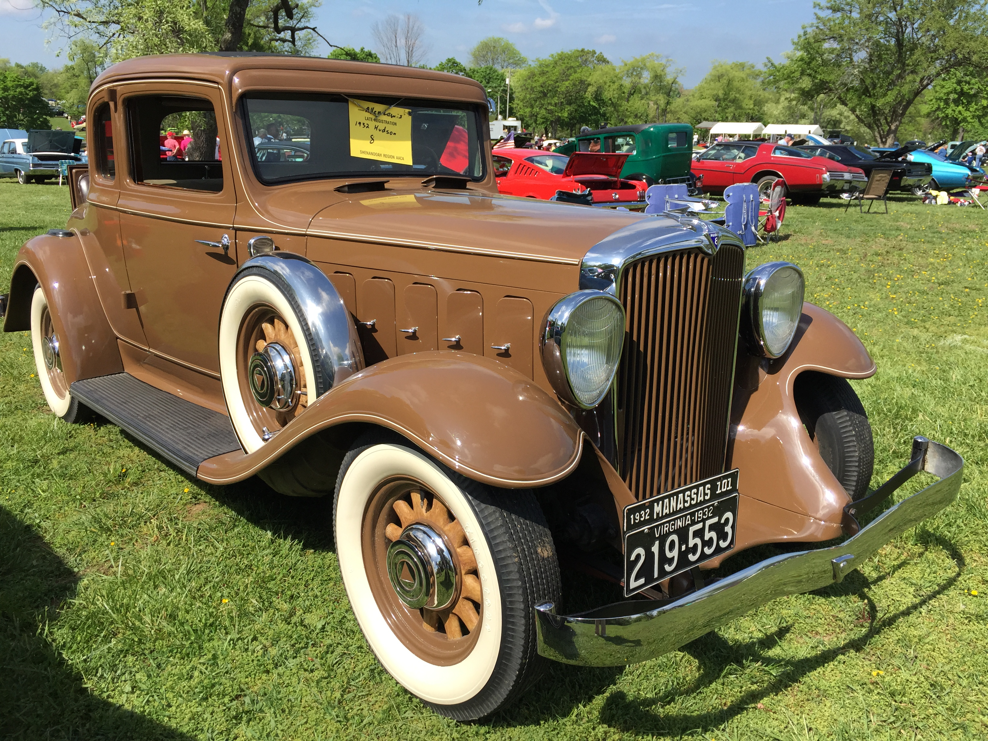 file 1932 hudson eight coupe rumble brown 2015 shenandoah aaca meet