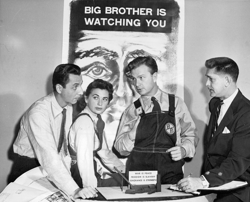Actors from 1953 CBS TV production of 1984