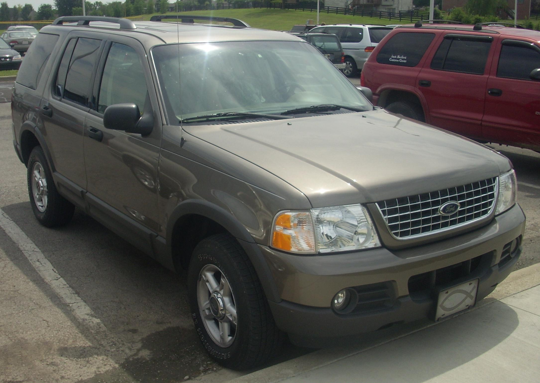 2003 Explorer Ford Rollovers