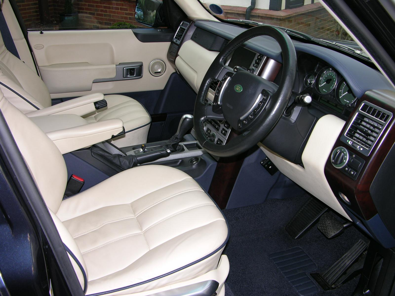 2004 Range Rover Interior Colors
