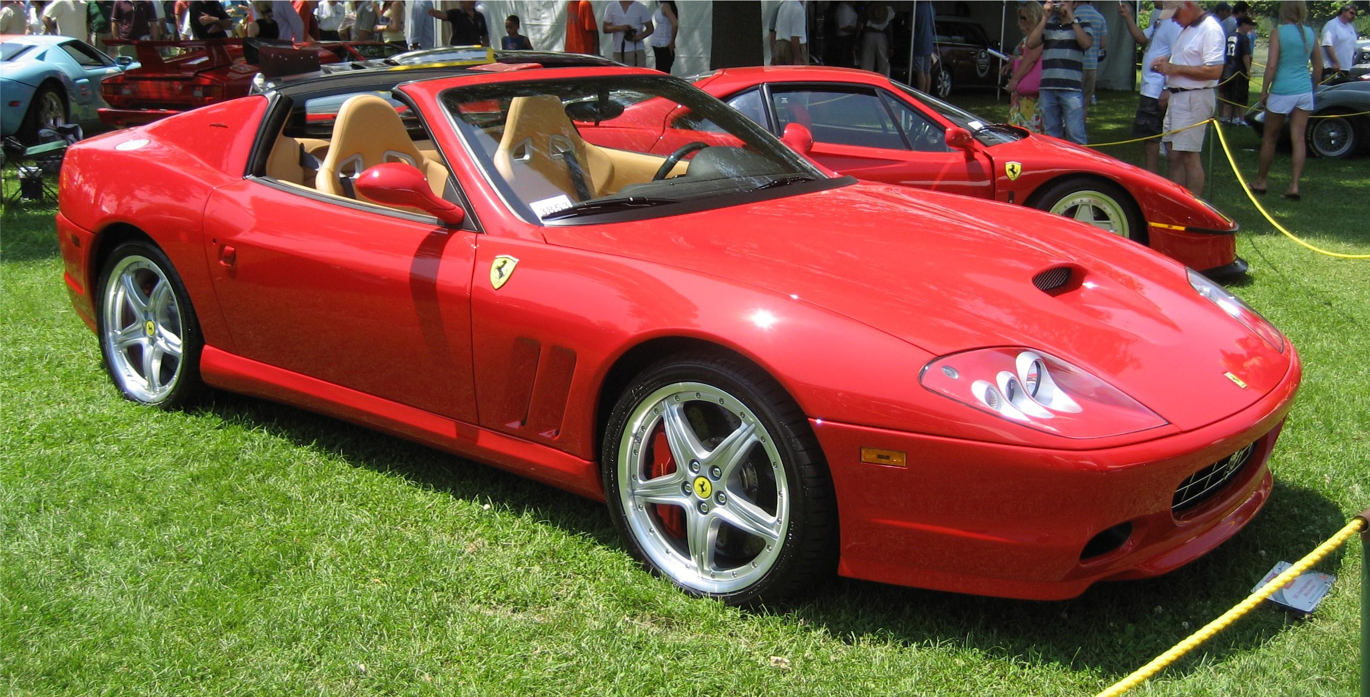 2005_Ferrari_Superamerica Marvelous Ferrari Mondial 8 Te Koop Cars Trend