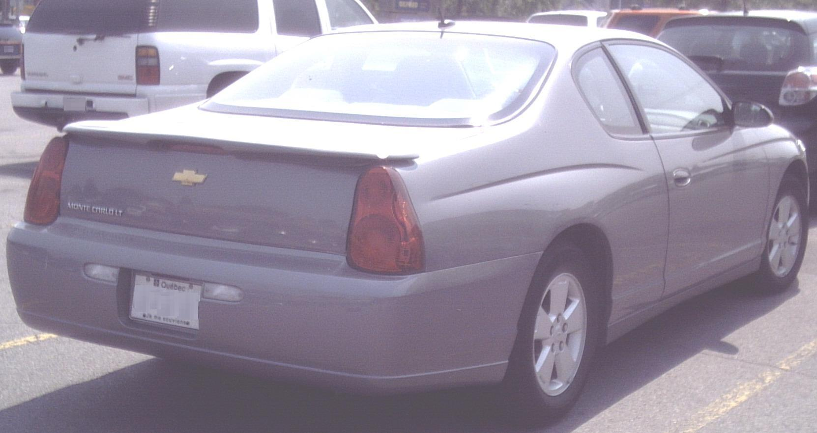 All Chevy chevy 2006 : File:2006 Chevy Monte Carlo.jpg - Wikimedia Commons