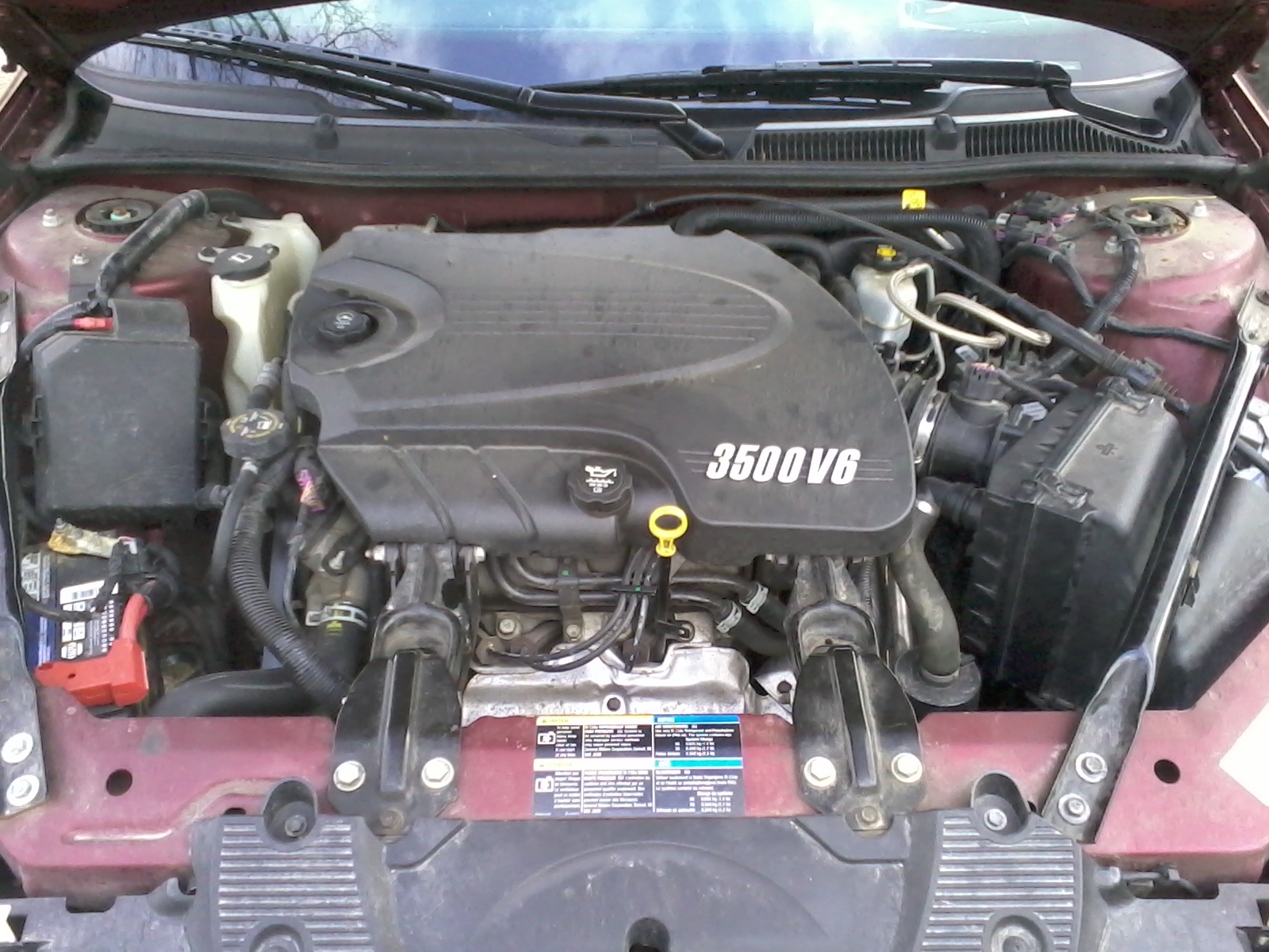 Impala L Engine With Cover on 2003 Malibu Engine Diagram