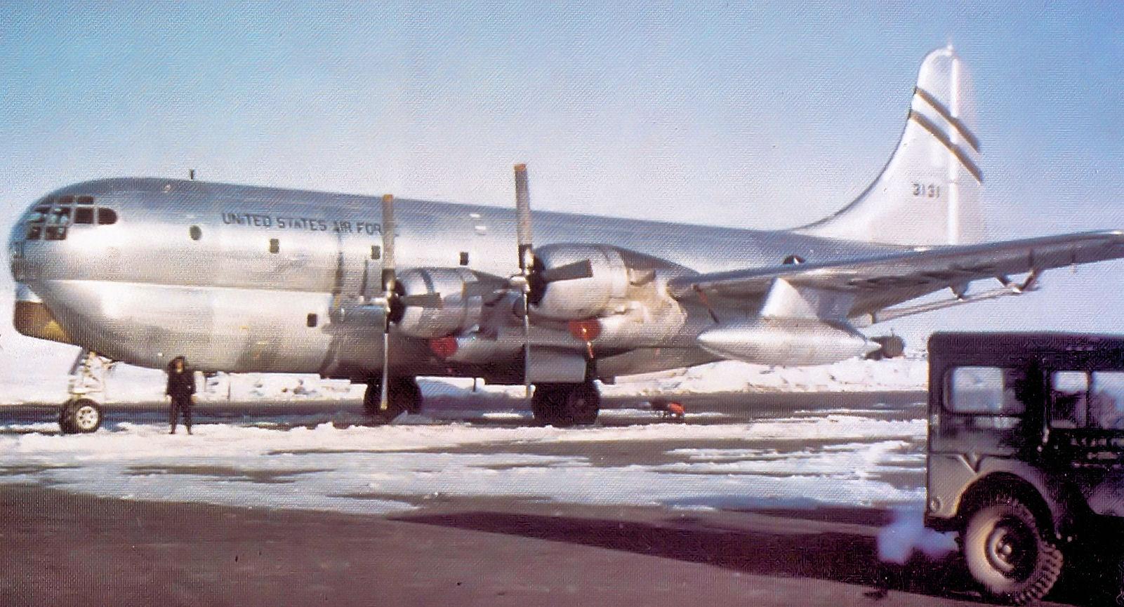 320th ARS Boeing KC-97G Stratofreighter 53-131.jpg