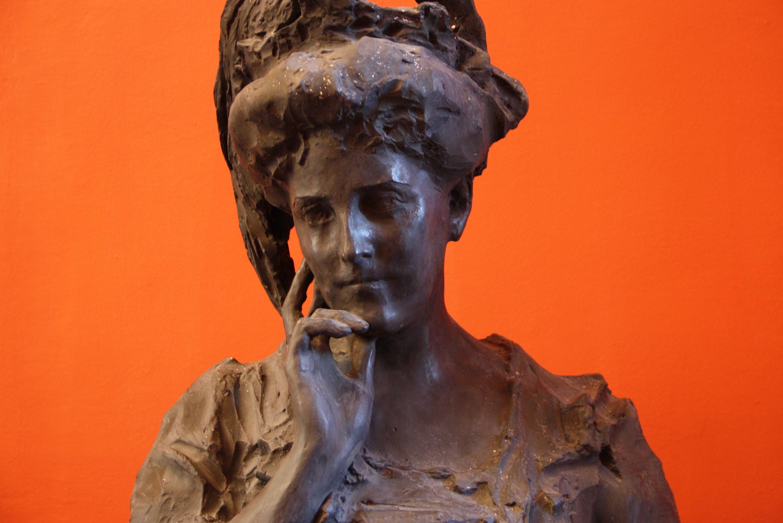File 7236 Paolo Troubetzkoy Signora Con Cappello 1905