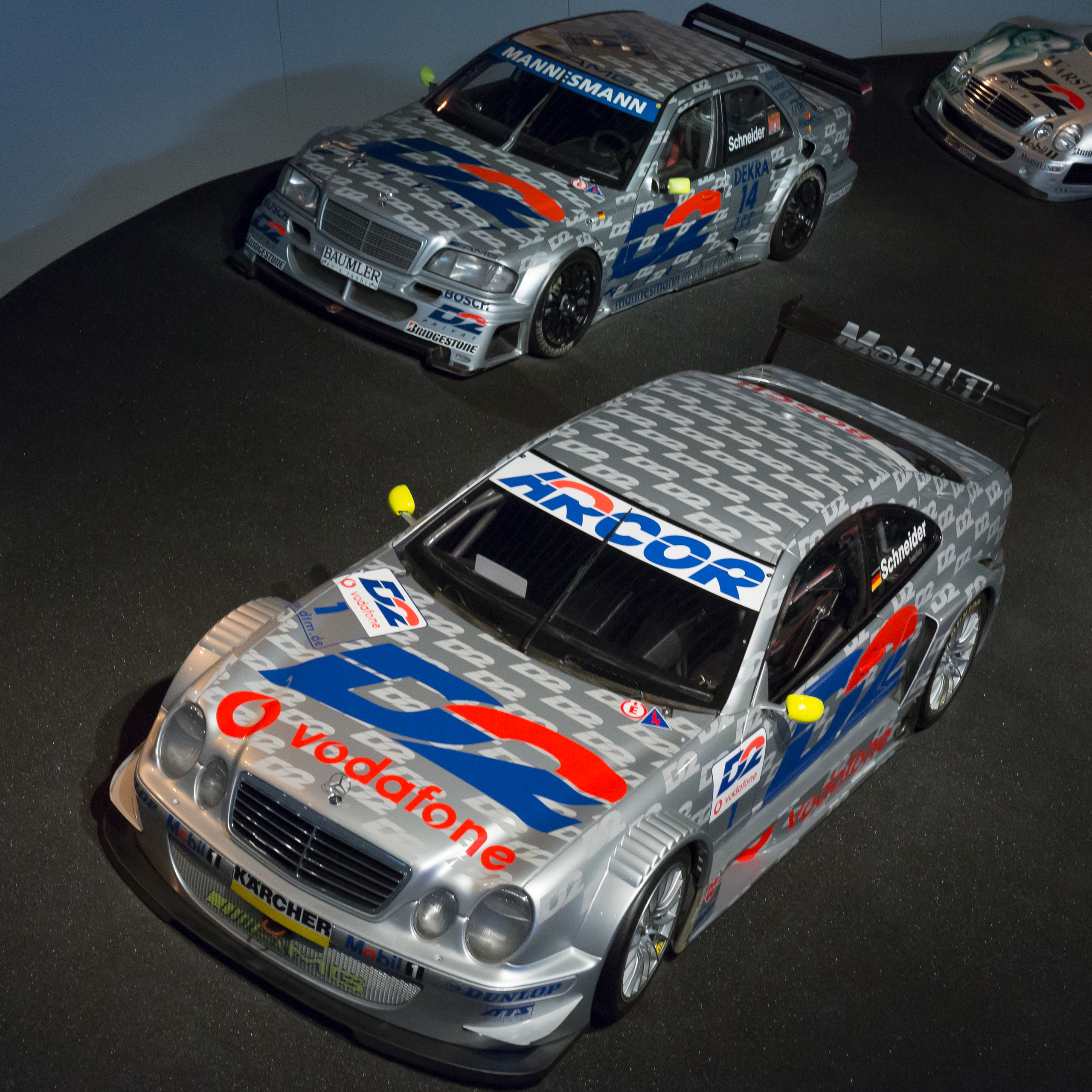File:AMG Mercedes CLK-Class (C208) DTM and C-Class (W202
