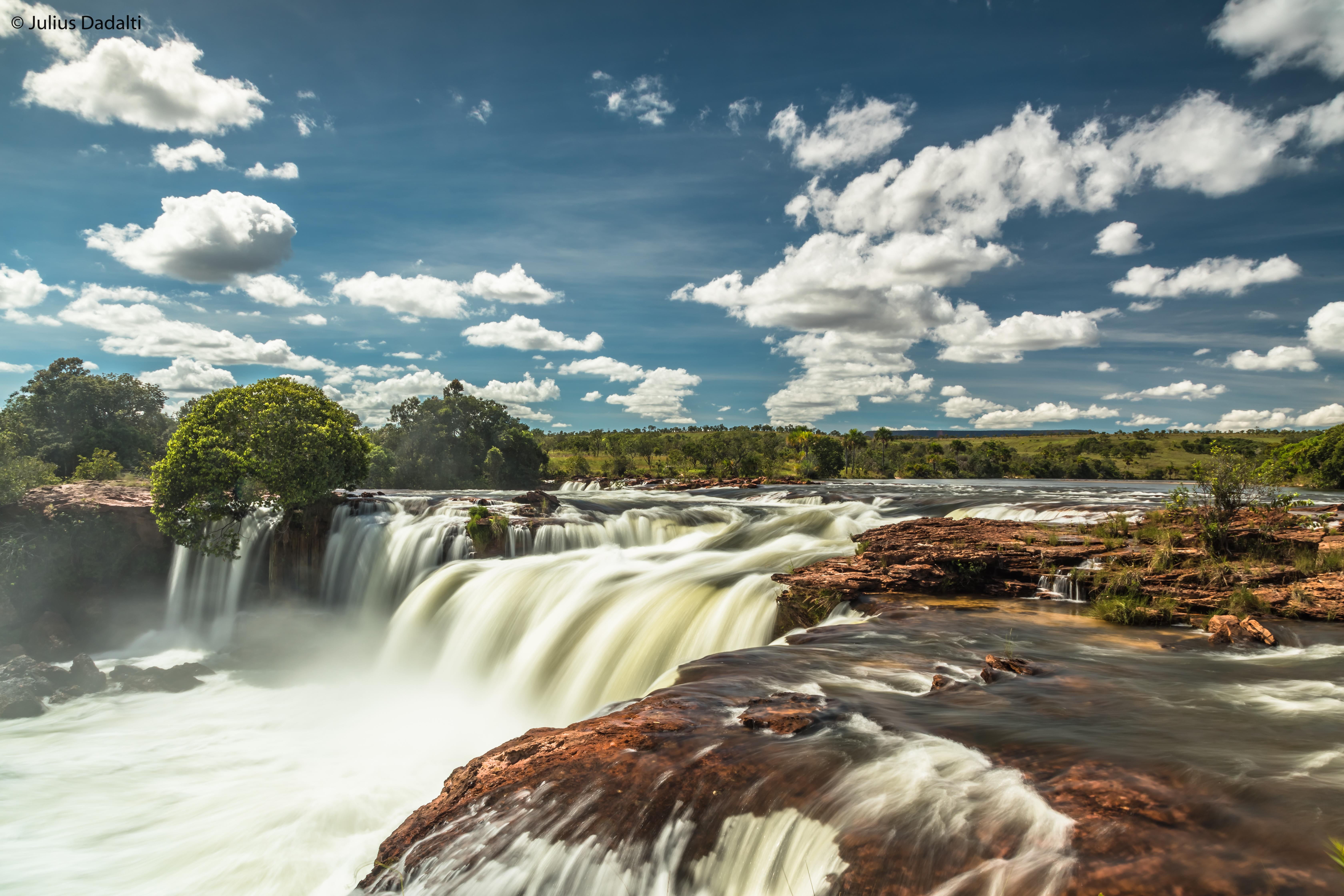 Jalapão por conta prória - Off-road pelo Brasil - Cachoeira da Velha