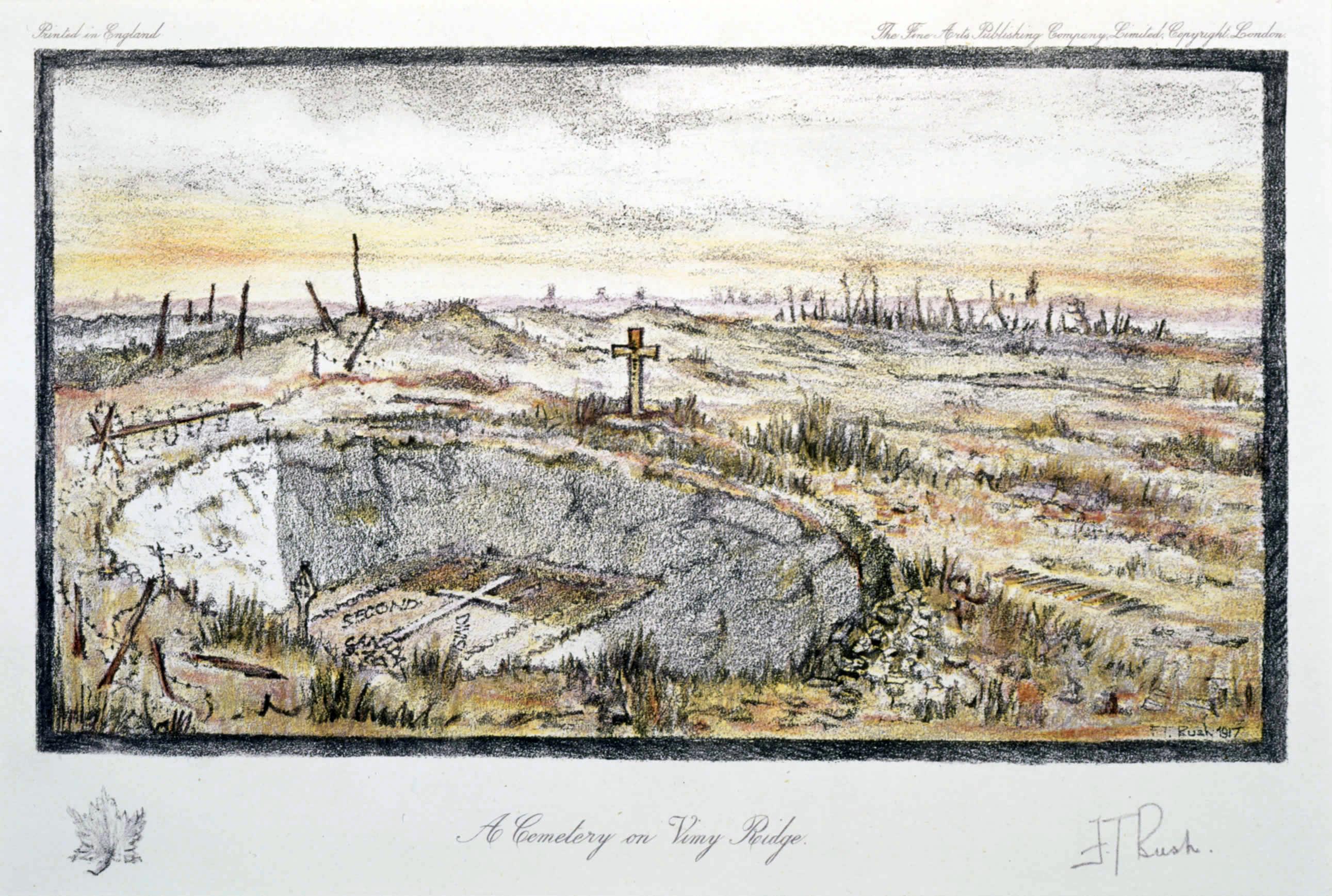 Canadians' Capture of Vimy Ridge Exemplifies Warfares Latest Methods