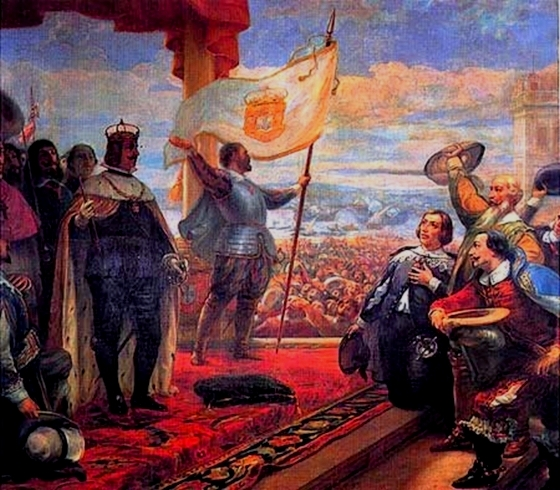 Ficheiro:Acclamation of King John IV of Portugal.jpg