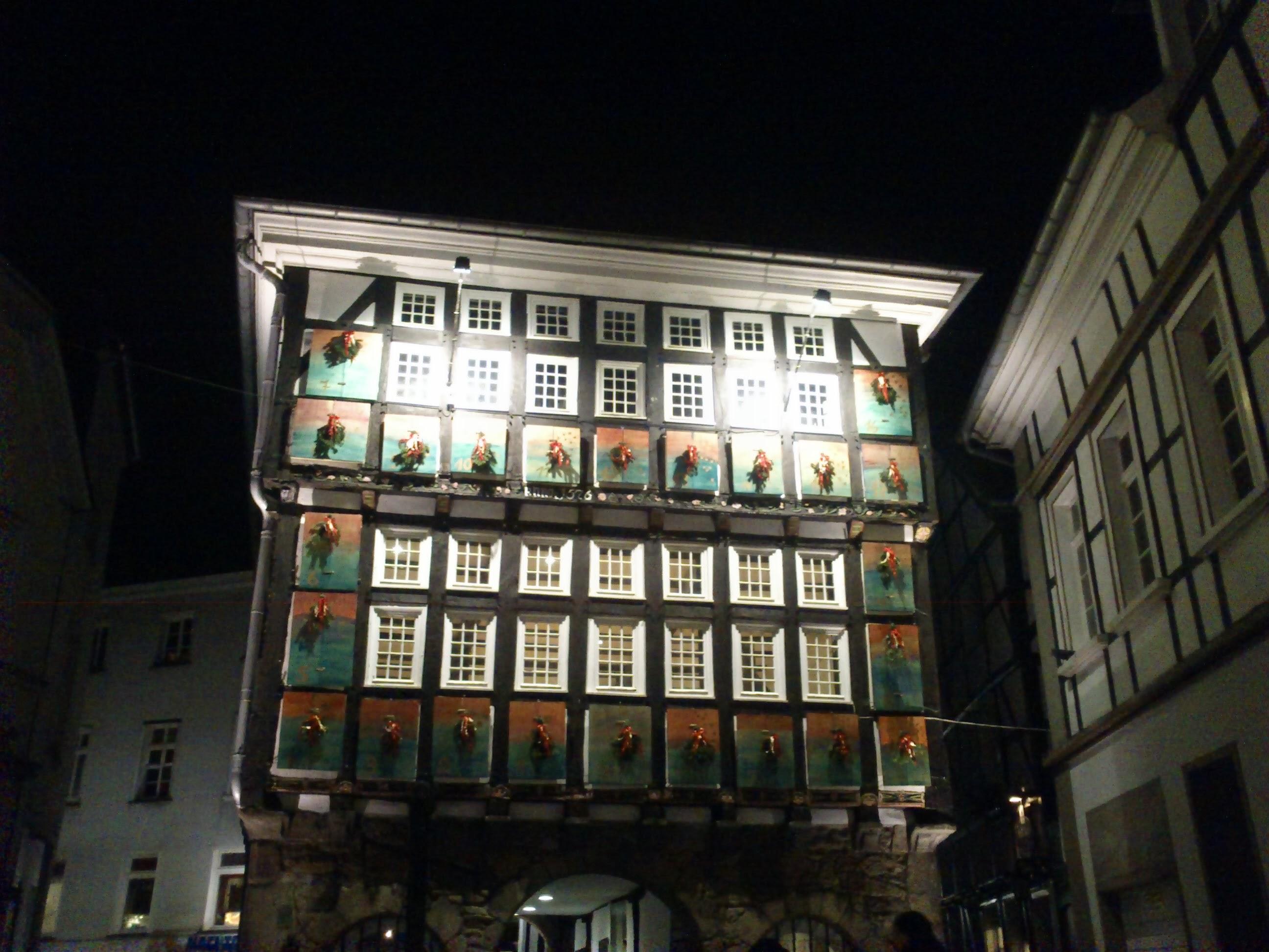 Alte Weihnachtskalender.File Adventskalender Altes Rathaus Hattingen 29 11 13 Panoramio