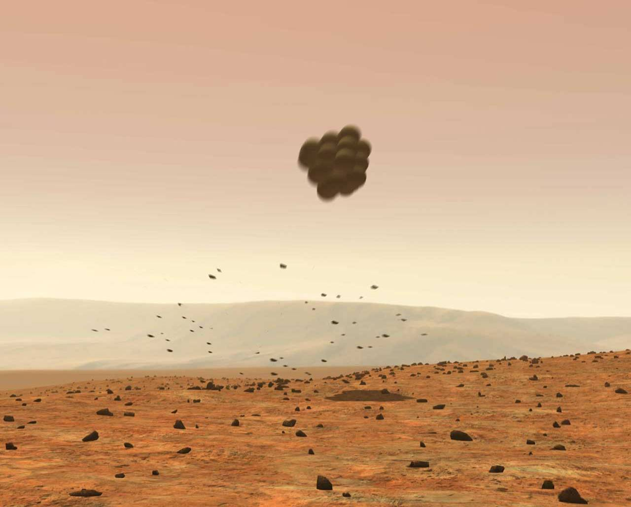 mars exploration rover airbags - photo #8