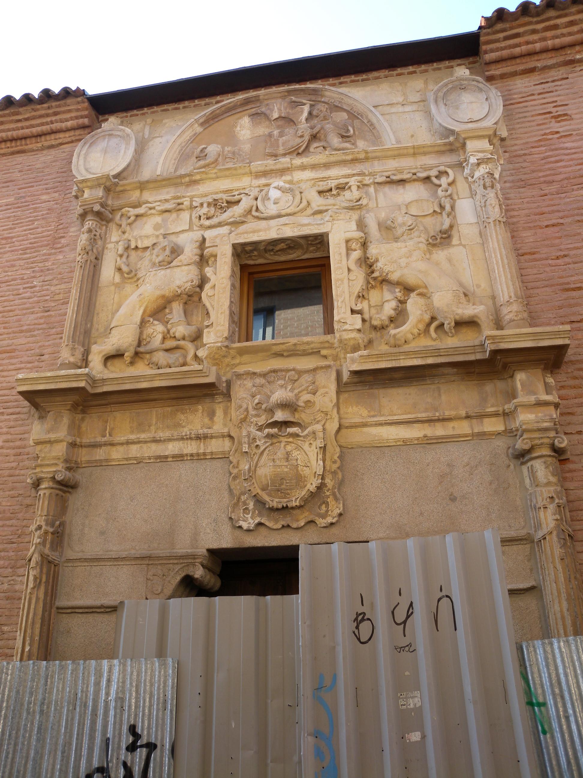 File alcala de henares madrid spain casa de los lizana - Casas regionales alcala de henares ...