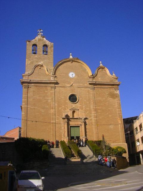 Iglesia parroquial de Alcarrás