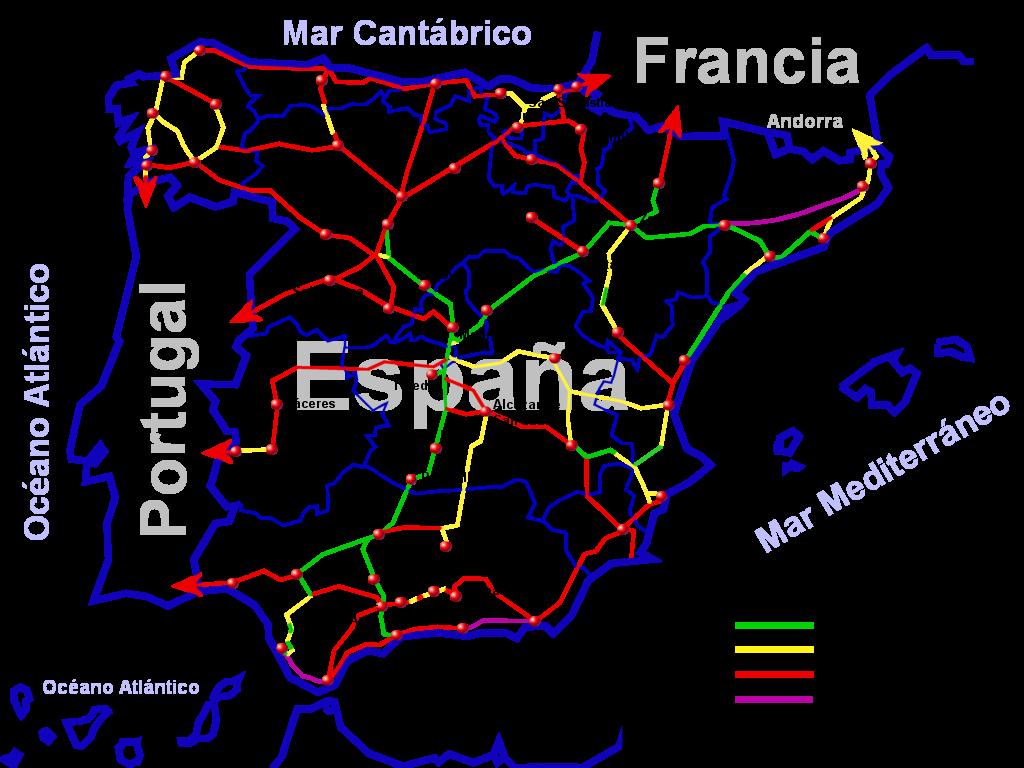 Red Ave España Mapa.Ave Vikipedya