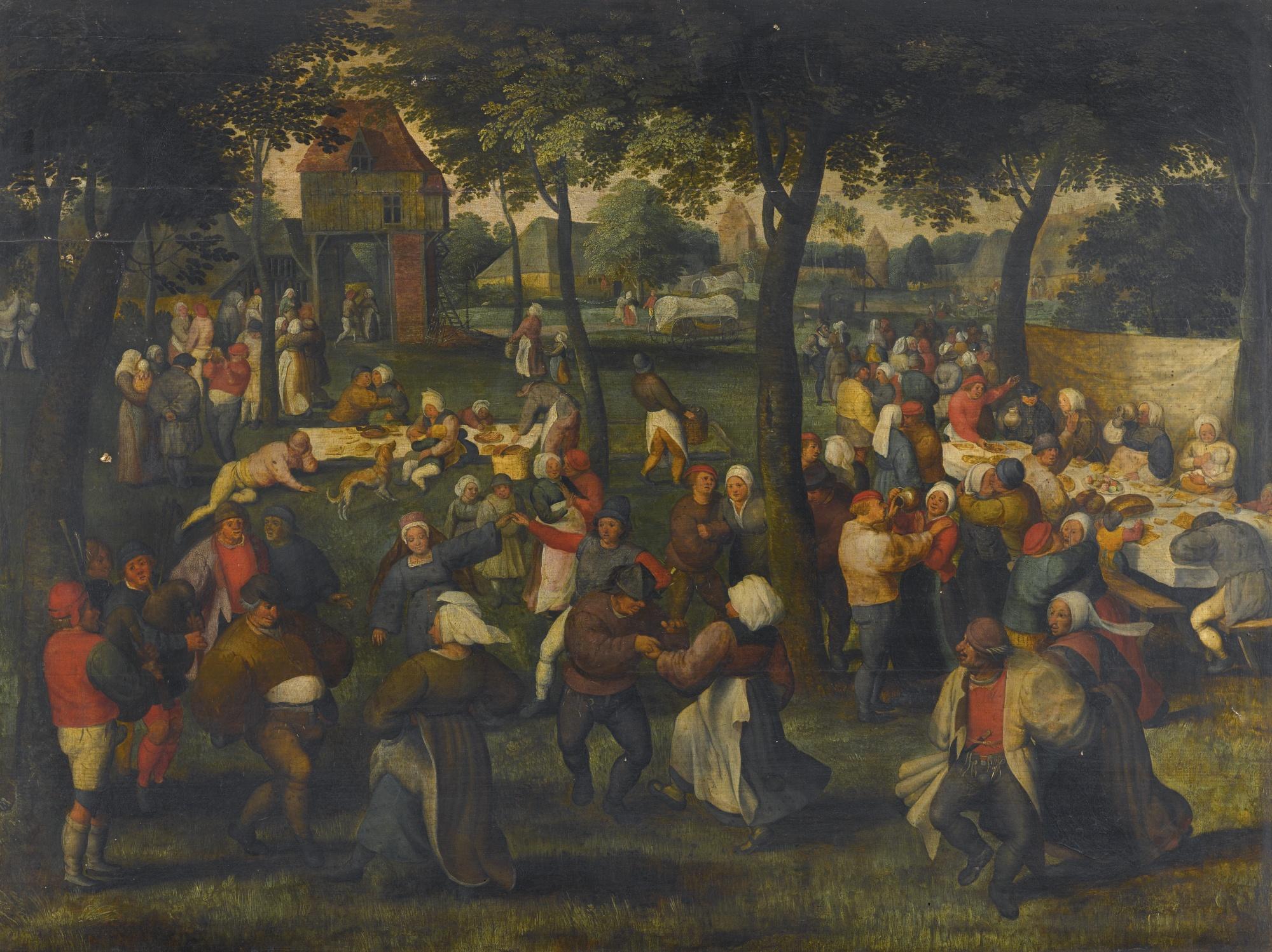 File An Outdoor Wedding Dance By Marten Van Cleve The Elder Jpg