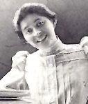 Anna Strunsky as a young woman.