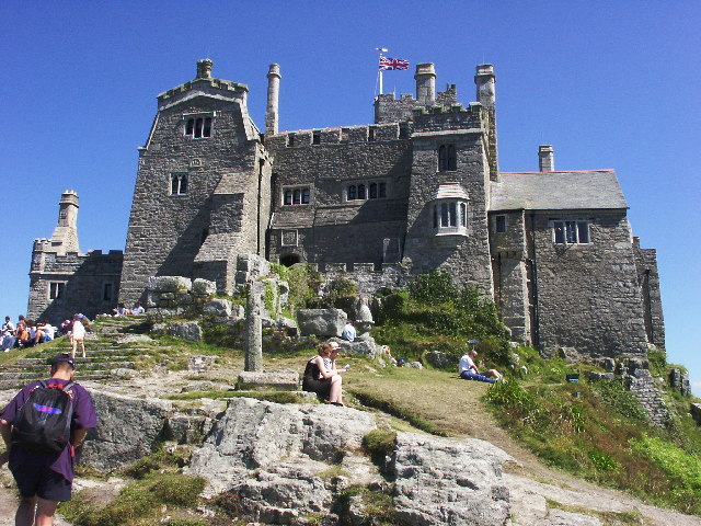 Another view on the Castle of St.Michaels Mount - geograph.org.uk - 29317