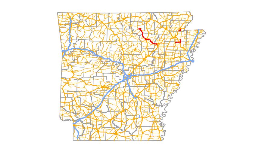 Interstate 69 Arkansas Map.Arkansas Highway 69 Wikipedia
